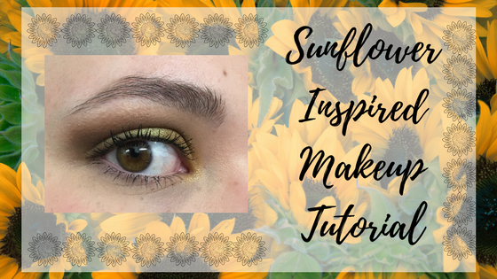 Sunflower Inspired Makeup Tutorial