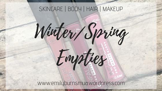 Winter_Spring Empties